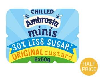 Ambrosia minis 30% less sugar - original