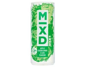 WKD Mixd apple elderflower & gin flavour 250ml