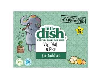 Little Dish veg dhal & rice
