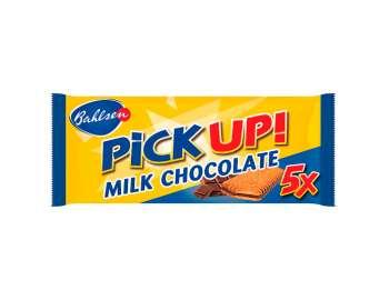 FREE Bahlsen PiCKUP! milk chocolate bars 5x28g