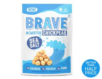 Brave Roasted Chickpeas Sea Salt 35g