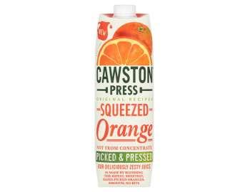 Cawston Press orange juice 1lt