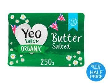 Yeo Valley Organic Block butter 250g
