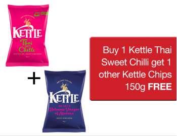 Buy 1 KETTLE® TSC + 1 KETTLE® Chips 150g