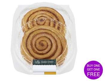 Morrisons Cinnamon Swirl 2pk