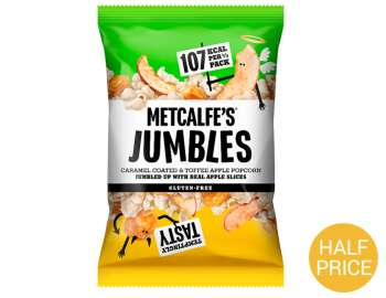 Metcalfe's® Jumbles Popcorn Toffee Apple 80g