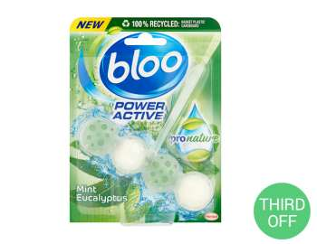 Bloo power active mint eucalyptus pro nature 50g
