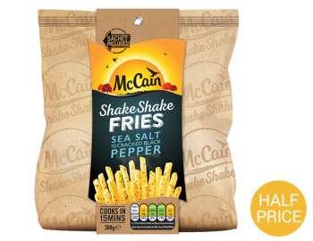 McCain shake shake sea salt & black pepper 300g