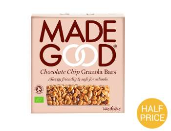 Made Good chocolate chip granola bars 6pk
