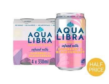 Follow up - Aqua Libra raspberry & blackcurrant 4x330ml