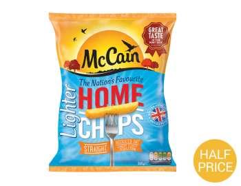 McCain lighter home chips 900g