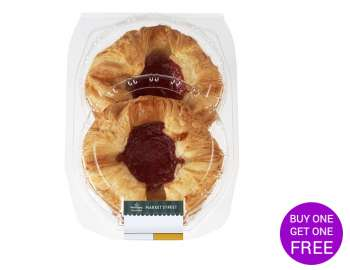 Morrisons Strawberry and Cream Crown 2pk