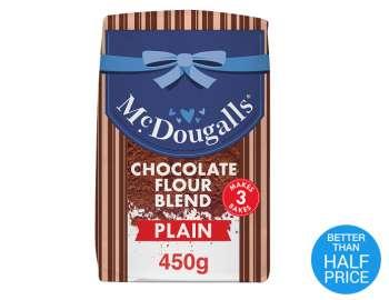 McDougalls plain chocolate flour 450g