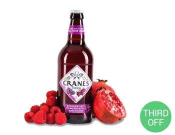 Cranes Raspberries & Pomegranates 500ml