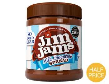 JimJams milk chocolate spread 350g