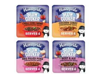 Homepride Slow Cooker - 4 varieties