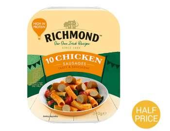 Richmond 10 chicken sausages