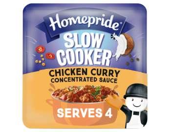 Homepride slow cooker chicken curry sauce